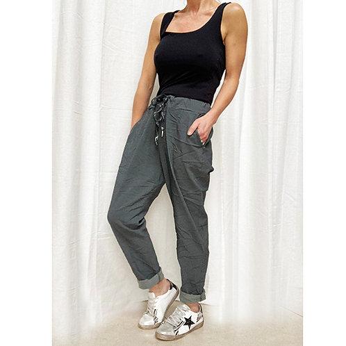 Plain Grey Trouser