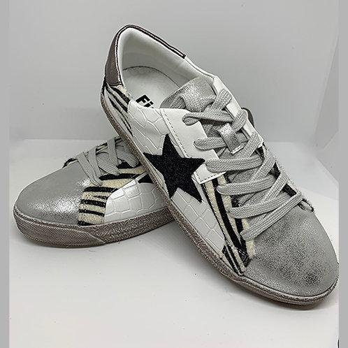 Trainers - White/Black/Silver
