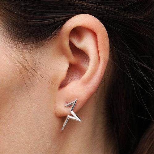 Star Stud Earring in Silver