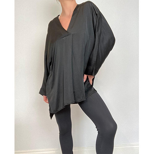 Tunic Blouse - Black