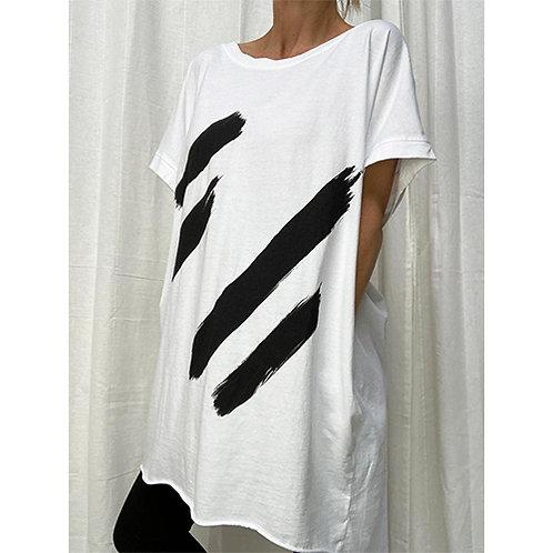 Graffiti Oversized T-Shirt