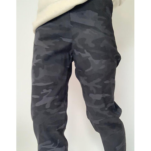 Camo Trouser - Charcoal