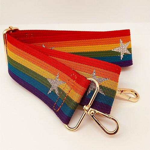 Shoulder Strap - Rainbow/Star