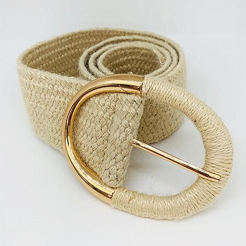 Woven Belt - Cream