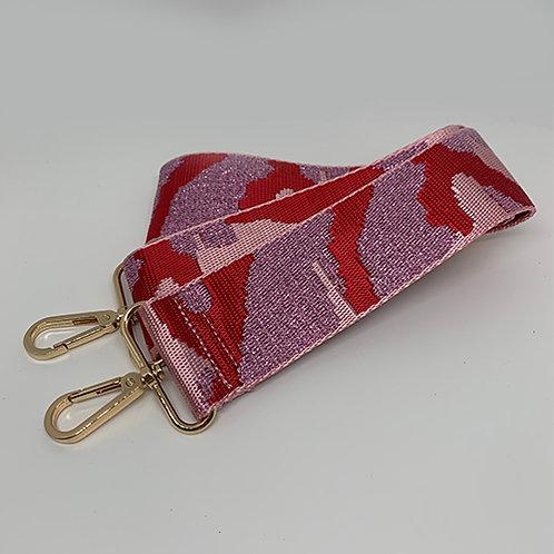 Shoulder Strap - Pink Camo