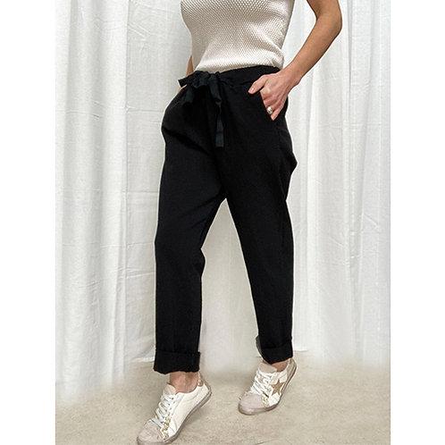 Plain Black Trouser