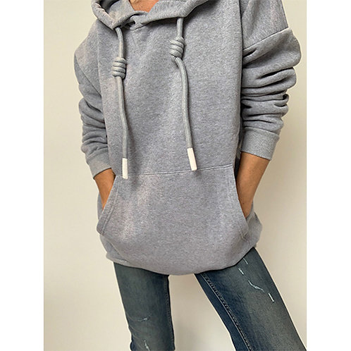 Angel Wings Hoodie - Grey