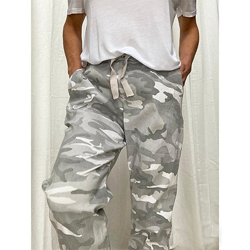 Camo Trouser -  Grey