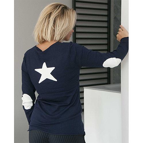 Star Jumper - Navy