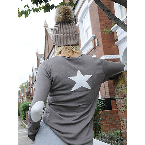 Star Jumper - Taupe