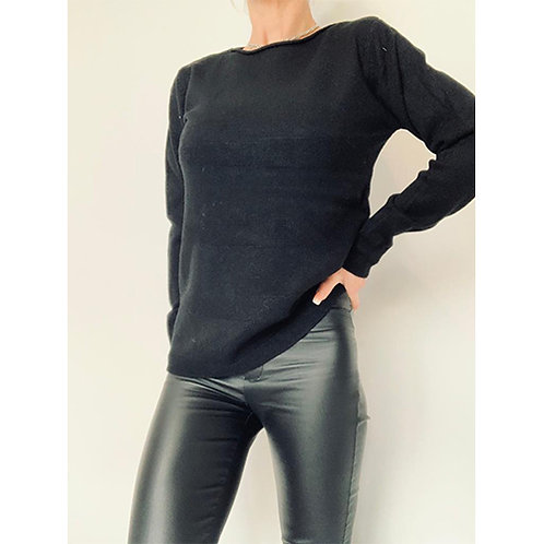 Simple Knit - Black
