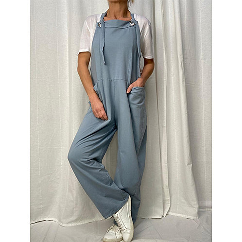 Dungarees - Pale Blue