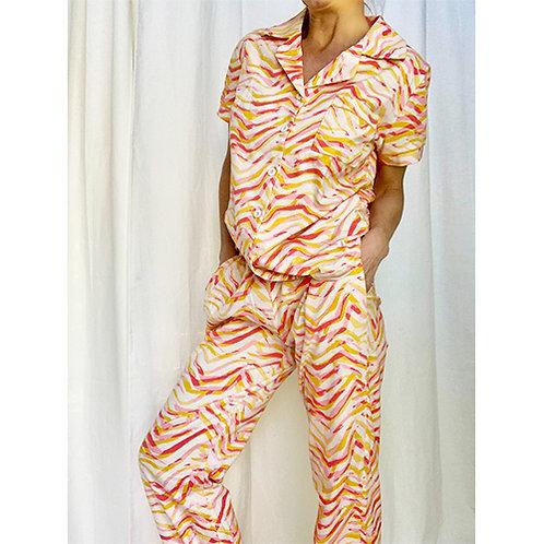 Loungewear Set - Pink/Coral