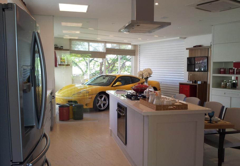 Garagem Ferrari