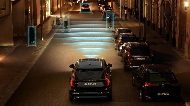 Volvo visão noturna