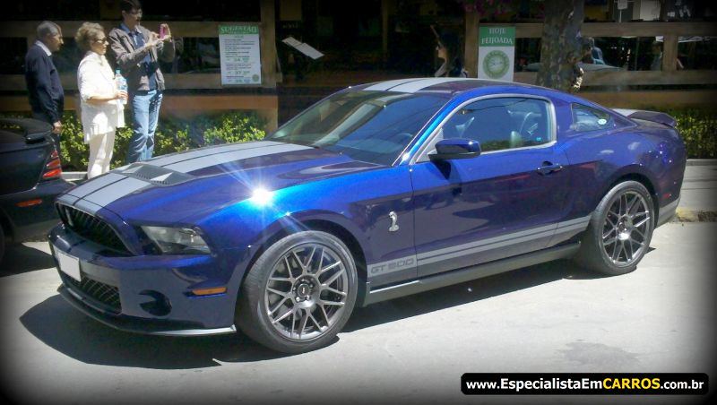 Shelby Mustang GT 500 2012