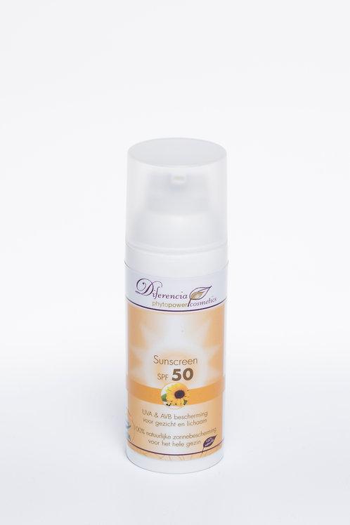 Sunscreen Factor 50