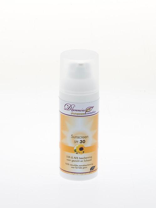 Sunscreen Factor 30