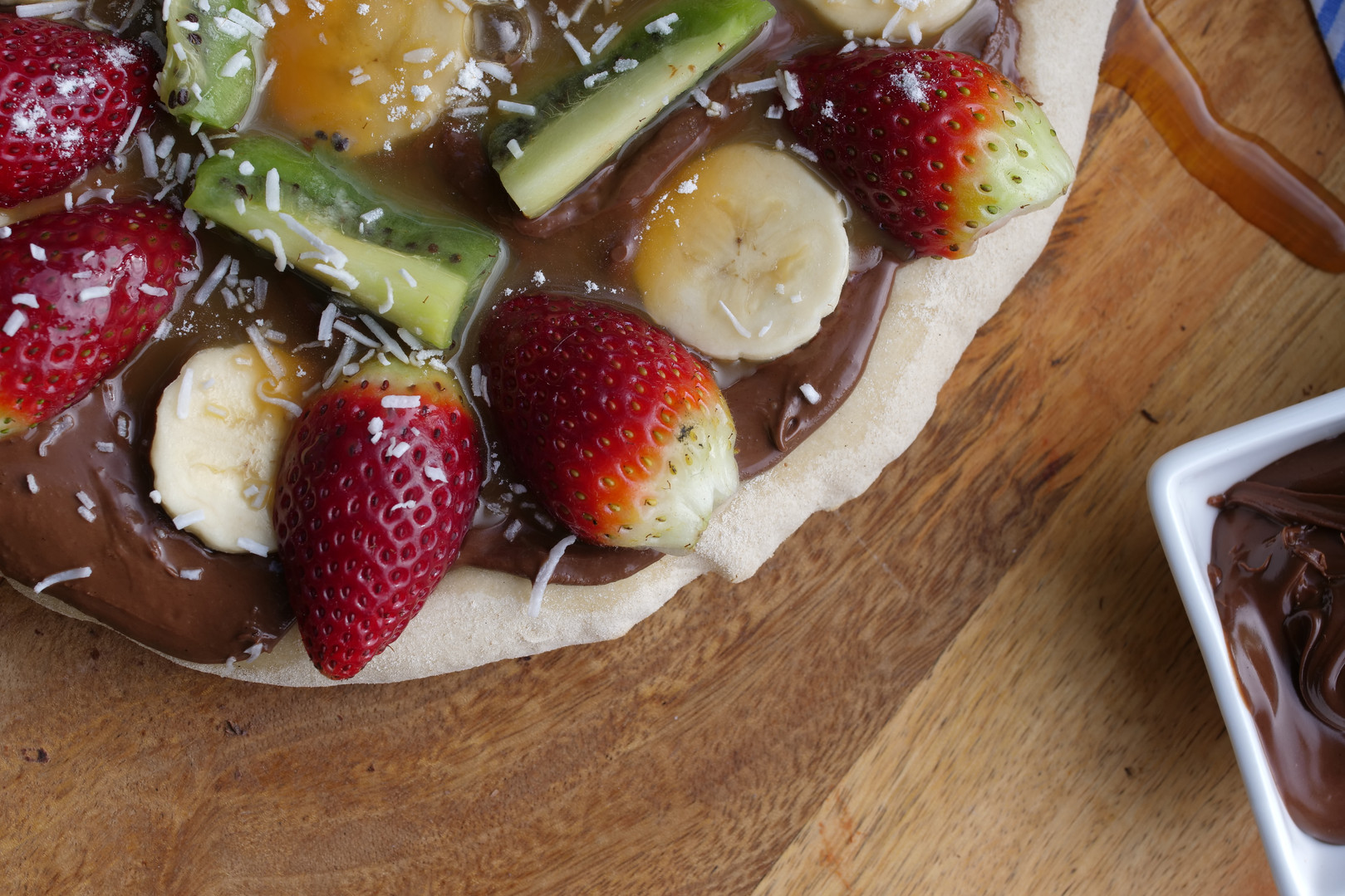 Include your dessert pizza!