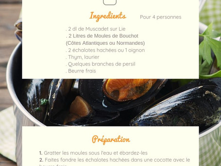 Moules Marinière & Muscadet