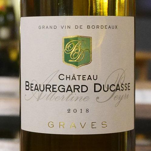 Graves Blanc 2018 Château Beauregard Ducasse