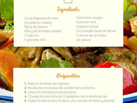 Sauté de Veau & Côtes de Provence rosé