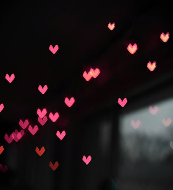 Floating Hearts