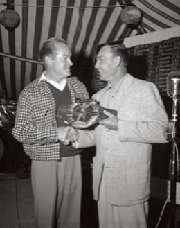 Ben Hogan meets Bob Hope