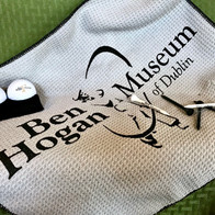 Golf Towel with Golf Ring, $15