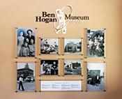 Wall Display in Ben Hogan Museum