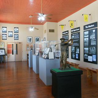 Interior of Ben Hogan Museum