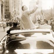Ben Hogan in downtown parade
