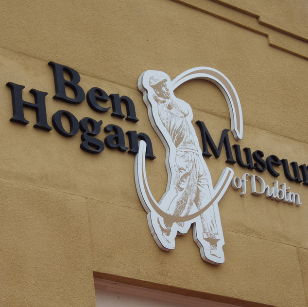 Exterior Sign of Museum