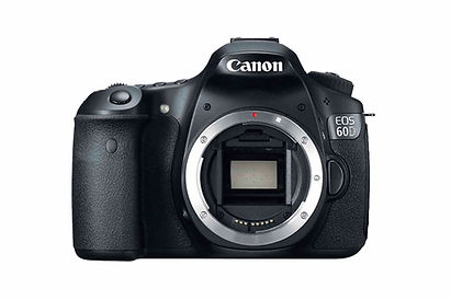 Alquiler cámara DSLR Canon 60D
