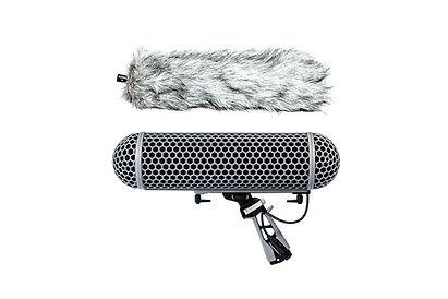 Alquilar montura microfono con protección para viento zeppelin