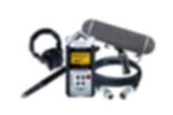 Alquiler equipo para grabación de sonido, kit para operador de boom