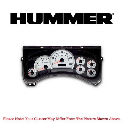 2003-06 Hummer ® Instrument Cluster Repair Service