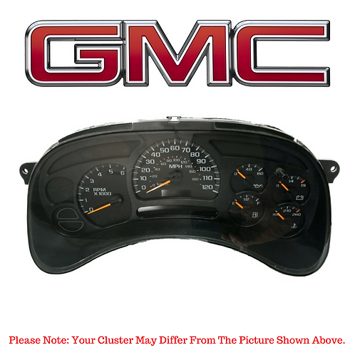 2003-07 GMC ® Instrument Cluster Repair