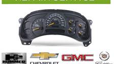 GM instrument cluster repairs