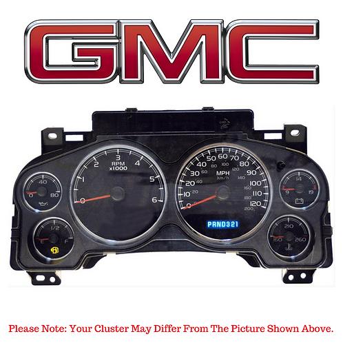 2007-12 GMC ® Instrument Cluster Repair Service (2007-2012)