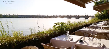 Terrasse au bord de la garonne Bordeaux