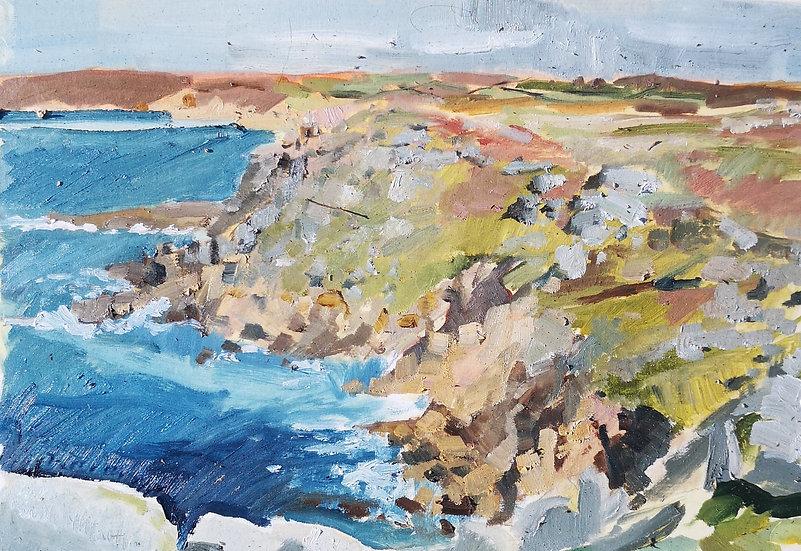 Cliffs at Sennen I
