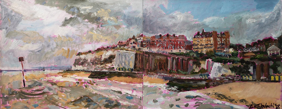 Broadstairs Oil Painting on Board