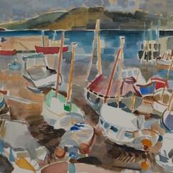 Boats at Lyme Regis