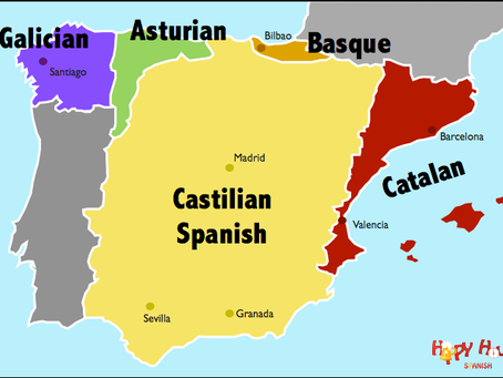 The five languages of Spain