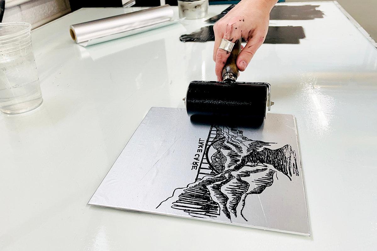 Tin Foil Lithography - Virtual Workshop