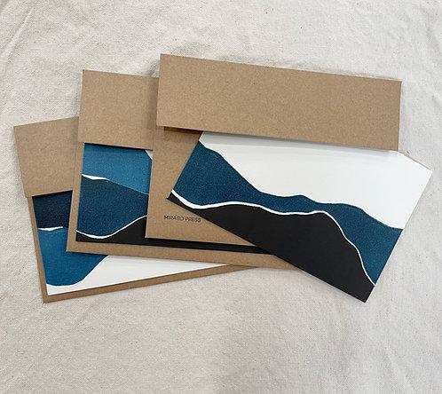 Landscape Cards, 3 pack