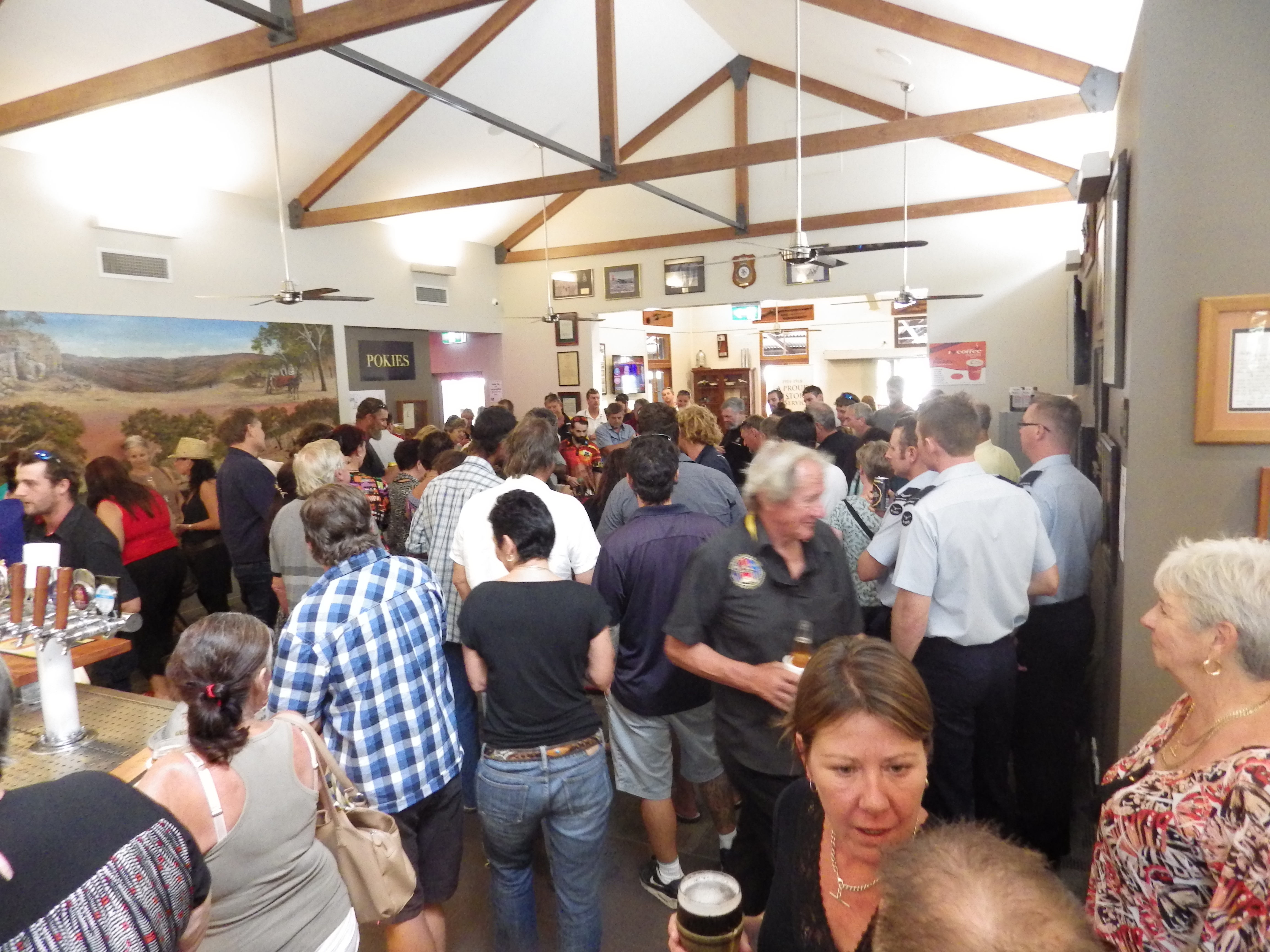 A huge turnout in Cooktown