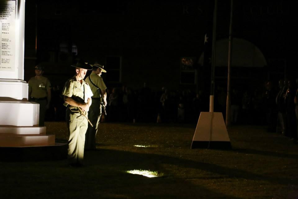 Atherton Anzac Day 2015