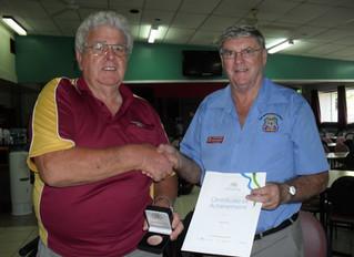 Bob Davis wins Australia Day RSL Honours